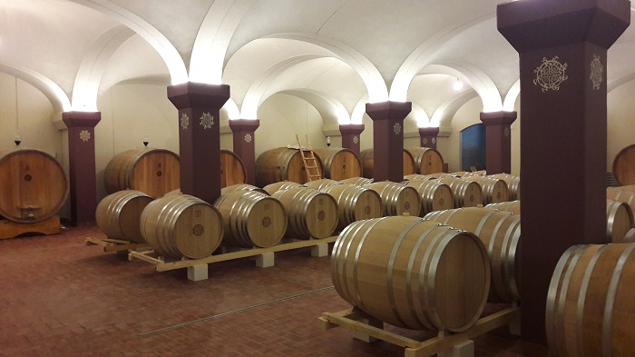 orione winery cellar
